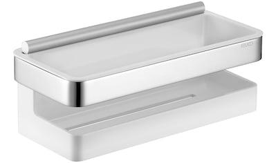 KEUCO Duschablage »Collection Moll  -  Duschkorb«, 3 - teilig, mit integrierter Glasabzieher kaufen