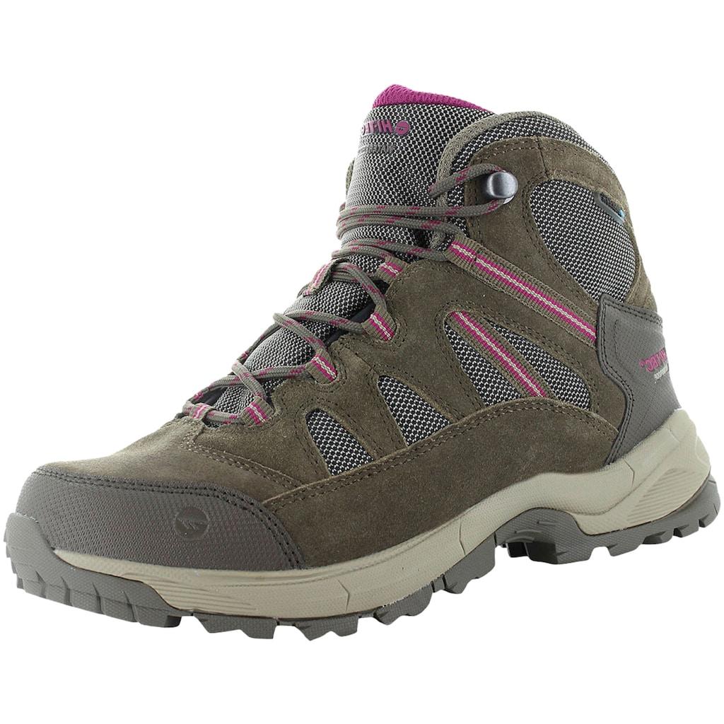 Hi-Tec Wanderschuh »O006465-041«, HI-TEC Bandera Lite WP Womens braun/pink