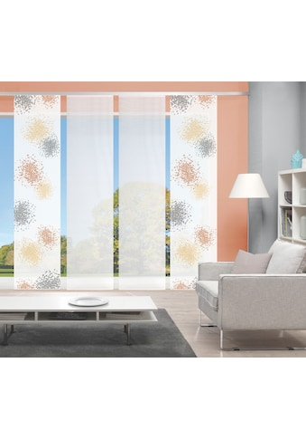 Vision Schiebegardine »SPOTTI 4er SET«, Bambus-Optik, Digital bedruckt kaufen