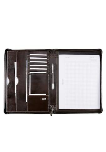 Alassio® Schreibmappe »DIN A4, Monaco«, aus Leder kaufen