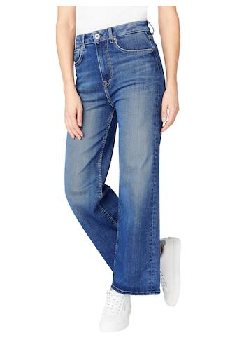 Pepe Jeans High-waist-Jeans »LEXA SKYHIGH«, Straight Passform mit extra hohem Bund im... kaufen