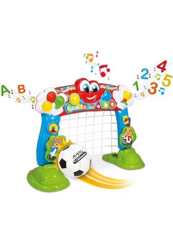 Clementoni® Lernspielzeug »Baby, Interaktives Fußballtor«, mit Ball und Lernfunktion kaufen