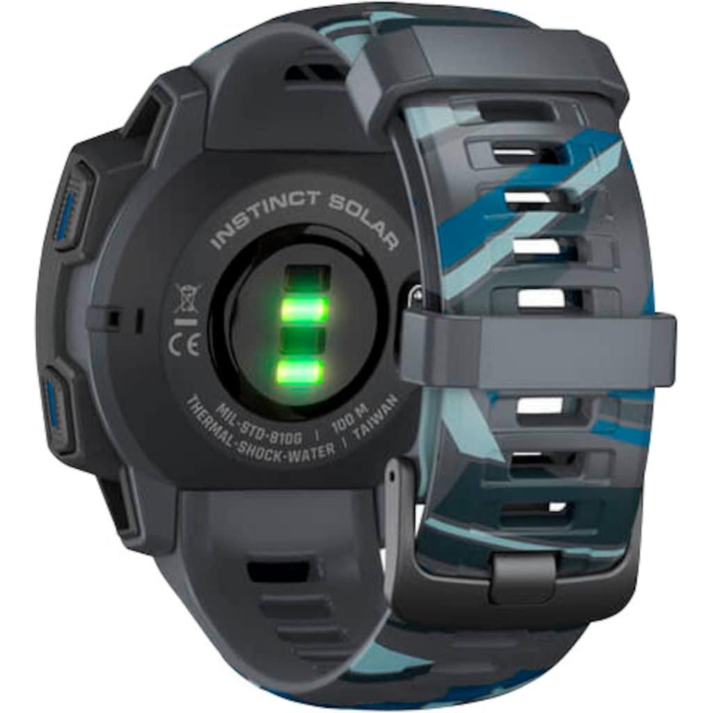 Garmin Smartwatch »Instinct Solar – Surf Edition«