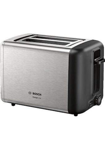 BOSCH Toaster »TAT3P420DE DesignLine Edelstahl«, 820 Watt kaufen