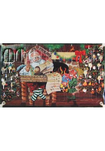 Krebs Glas Lauscha Adventskalender, mit Weihnachtsbaumschmuck kaufen