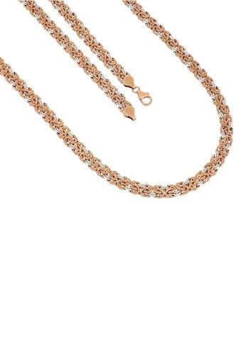 Firetti Goldkette »Königskette, 8 mm, glänzend, ziseliert, glatt, bicolor« kaufen