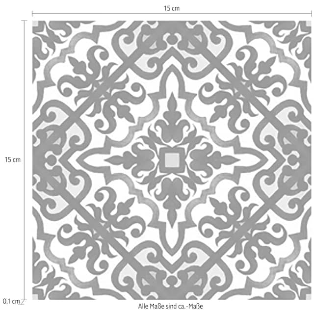 Fliesenaufkleber »Muster II«