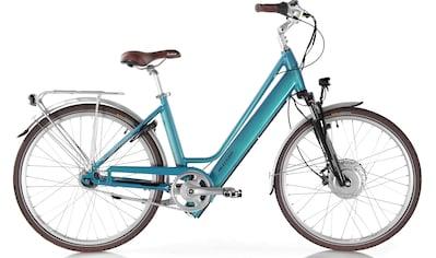 ALLEGRO E - Bike »Invisible City Plus Blue«, 7 Gang Shimano Nexus Schaltwerk, Nabenschaltung, Frontmotor 250 W kaufen