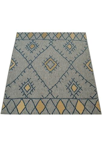 Paco Home Teppich »Kuba 124«, rechteckig, 5 mm Höhe, In- und Outdoor geeignet, Wohnzimmer kaufen
