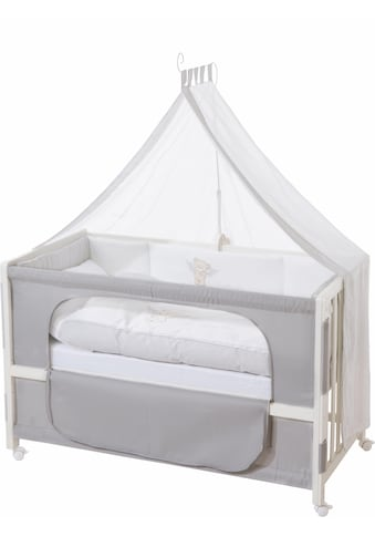 roba® Babybett »Room bed - Dekor Heartbreaker«, als Beistell-, Kinder- und Juniorbett verwendbar kaufen