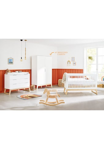 Pinolino® Babyzimmer-Komplettset »Bridge«, (Set, 3 St.), breit; mit Kinderbett,... kaufen