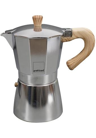 gnali & zani Espressokocher »Venezia«, 9 Tassen, Induktion kaufen
