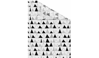 Fensterfolie, »Dreiecke«, LICHTBLICK, blickdicht, strukturiert kaufen