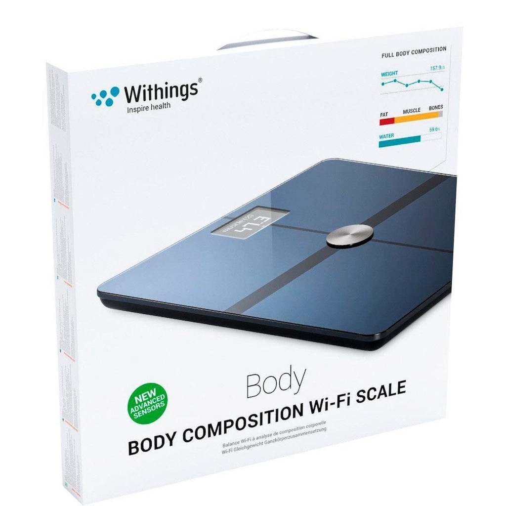 Withings Körper-Analyse-Waage »Body+«