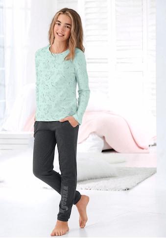 Arizona Pyjama, mit Unicorn (Einhorn)-Druck kaufen