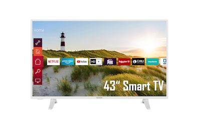 """Telefunken LED-Fernseher »XF43K550-W«, 108 cm/43 """", Full HD, Smart-TV kaufen"""