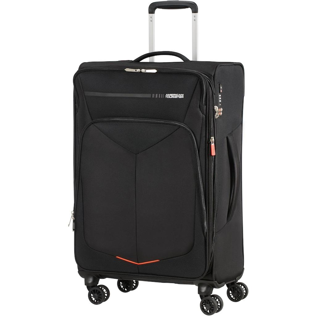 American Tourister® Weichgepäck-Trolley »Summerfunk, 67 cm, black«, 4 Rollen