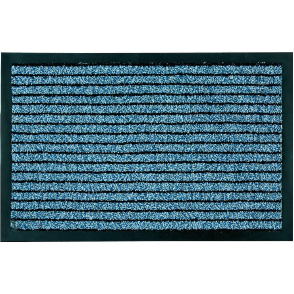ASTRA Fußmatte »Karat 620«, rechteckig, 10 mm Höhe, Schmutzfangmatte, In -und Outdoor geeignet