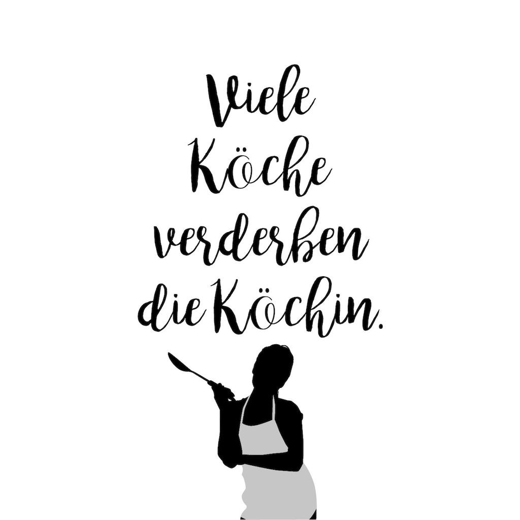 queence Wanddekoobjekt »Köchin«