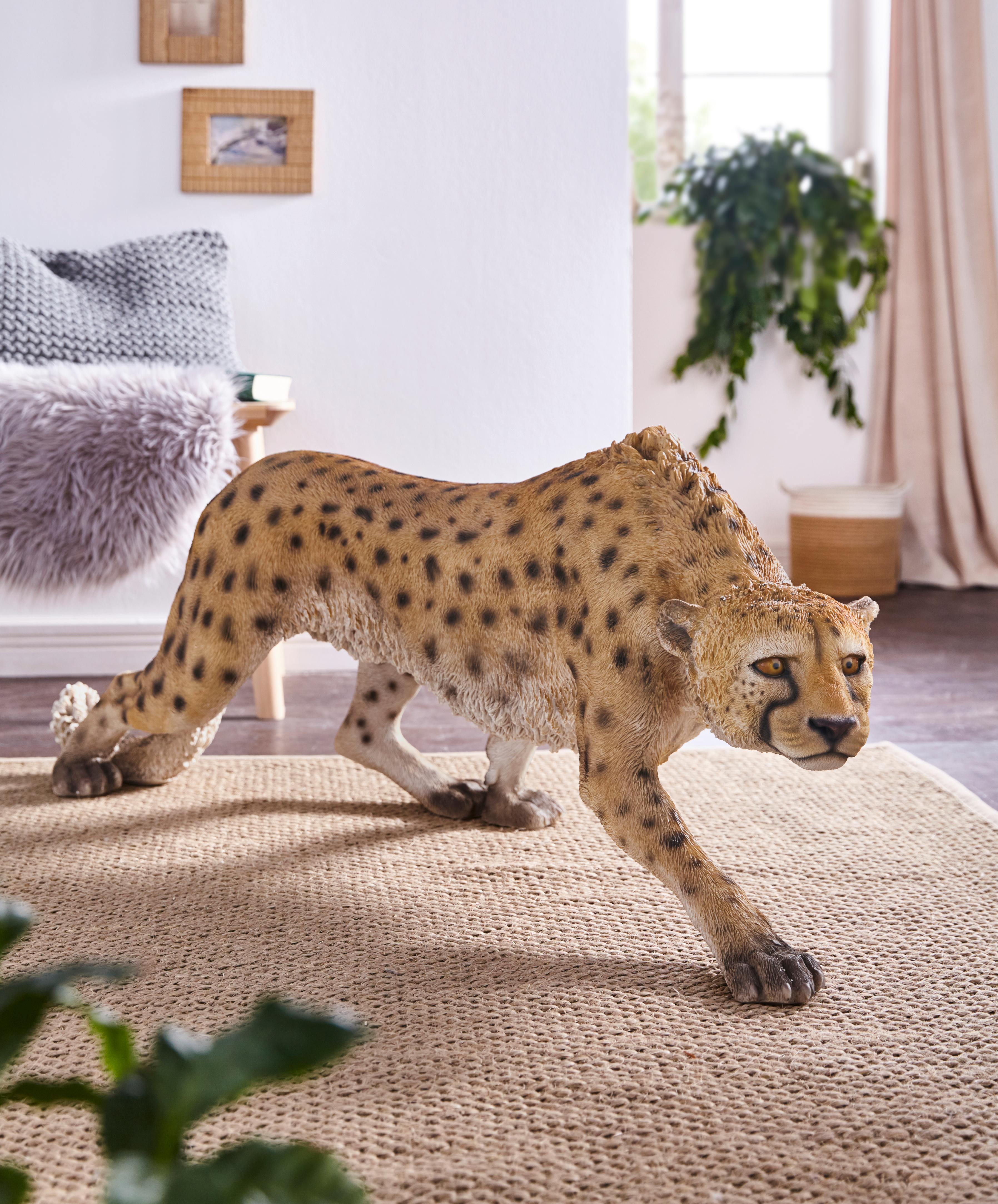 Home affaire Deko-Figur »Gepard« Breite: 128 cm   Dekoration > Figuren und Skulpturen > Figuren   home affaire