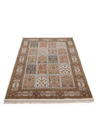 Woven Arts Orientteppich »Orientteppich Bakhtiar«, rechteckig, 15 mm Höhe, handgeknüpft, Wohnzimmer, reine Wolle kaufen