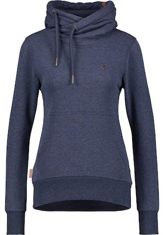 Alife & Kickin Sweatshirt »SarahAK B2«, sportiver Hoodie in Melange-Optik mit... kaufen