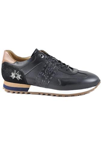 La Martina Sneaker »Made in Italy«, mit feiner Perforation kaufen