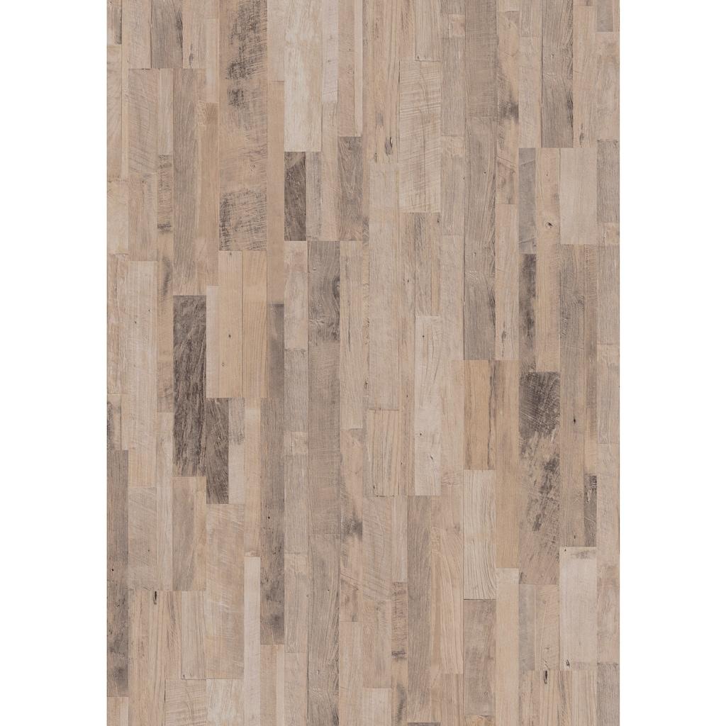 ter Hürne Laminat »Altholz-Mix beige«, mit fühlbarer Oberfläche und Klicksystem