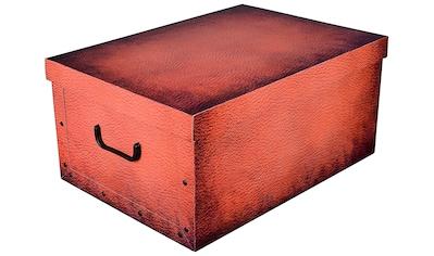 KREHER Aufbewahrungsbox »Carmel Leather« kaufen
