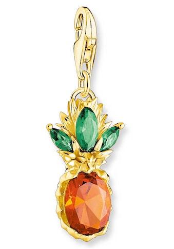 THOMAS SABO Charm-Einhänger »Ananas gold, 1879-472-7«, mit Glas-Keramik Stein kaufen