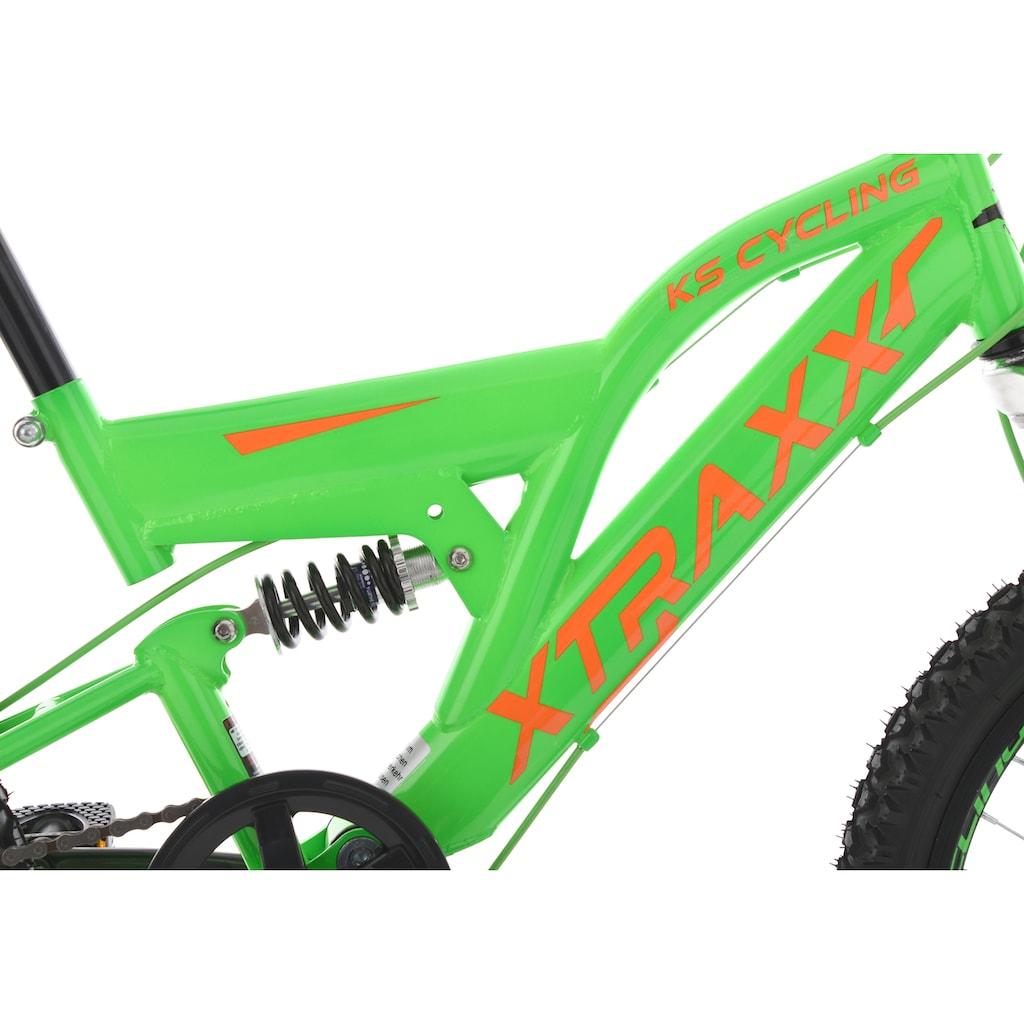 KS Cycling Jugendfahrrad »XTRAXX«, 7 Gang, Shimano, Tourney Schaltwerk, Kettenschaltung