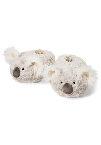 Nici Plüsch Hausschuhe »KOALA«, mit flauschigen Ohren kaufen