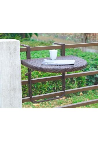 Garden Pleasure Balkonhängetisch »Rattan« kaufen