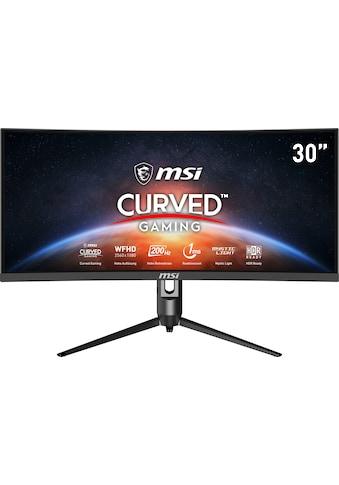 """MSI Curved-Gaming-Monitor »Optix MAG301CR2DE«, 76 cm/30 """", 2560 x 1080 px, WFHD, 1 ms Reaktionszeit, 200 Hz kaufen"""