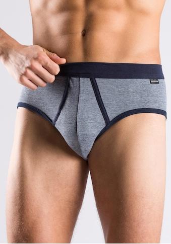 Schiesser Slip, Jeanswäsche mit navy Akzenten kaufen