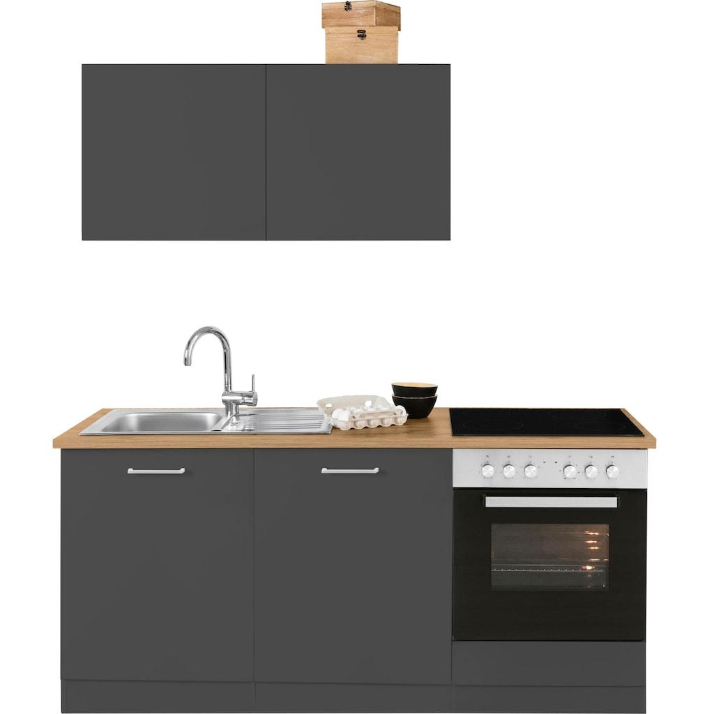 HELD MÖBEL Küchenzeile »Kehl«, ohne E-Geräte, Breite 180 cm