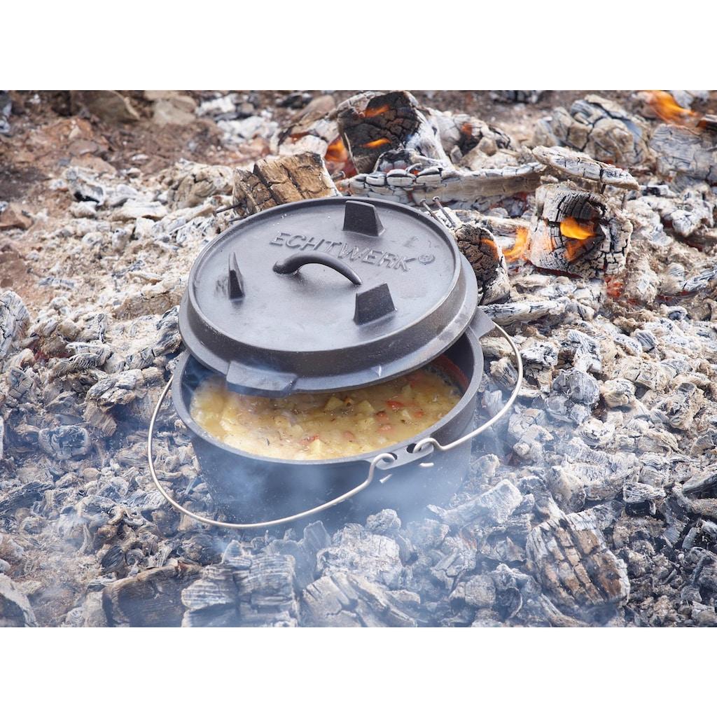 ECHTWERK Schmortopf »Dutch Oven«, Gusseisen, (1 tlg.), 8 Liter