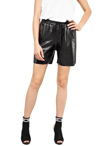 Replay Shorts, in Lederimitat-Optik kaufen