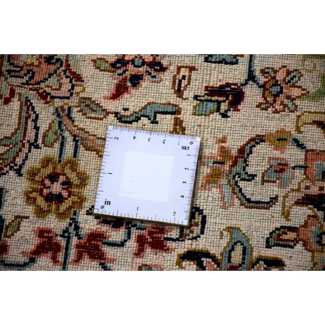 Seidenteppich, »Allover 999x4«, Kayoom, rechteckig, Höhe 10 mm, manuell geknüpft