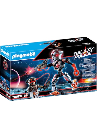 Playmobil® Konstruktions-Spielset »Galaxy Pirates-Roboter (70024), Galaxy Police«, (21... kaufen