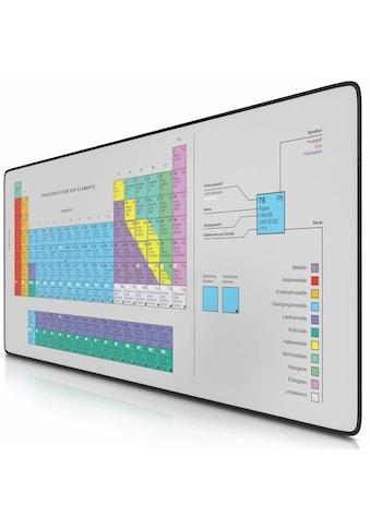 CSL XXL Gaming Mauspad Schreibtischunterlage »Mousepad 900 x 400mm / Präzison & Geschwindigkeit« kaufen