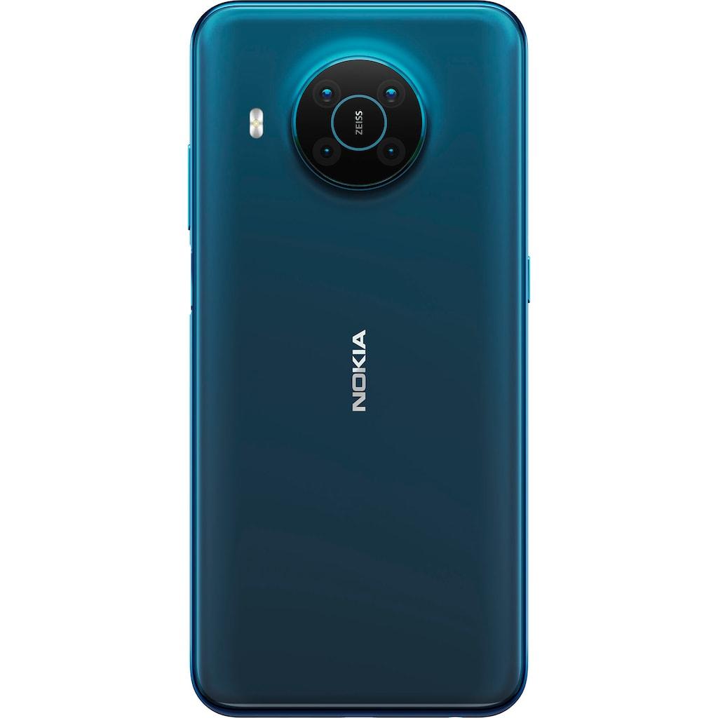 "Nokia Smartphone »X20, 8+128 GB, Dual SIM«, (16,94 cm/6,67 "", 128 GB Speicherplatz, 64 MP Kamera)"