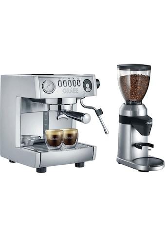 """Graef Siebträgermaschine »""""marchesa"""" ES850EUSET«, inkl. Kaffeemühle CM 800 im Wert von... kaufen"""