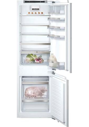 SIEMENS Einbaukühlgefrierkombination »KI86NADF0«, iQ500 kaufen
