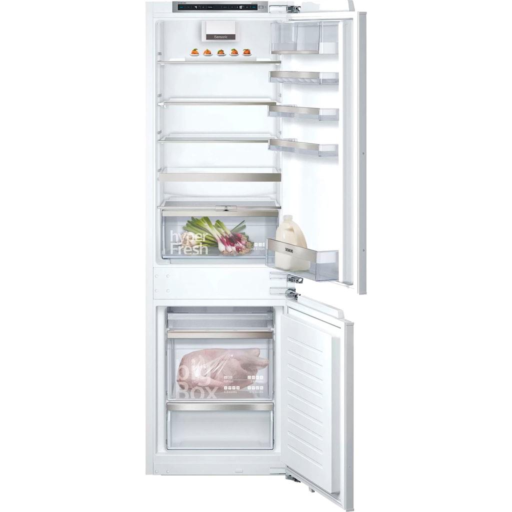 SIEMENS Einbaukühlgefrierkombination, iQ500