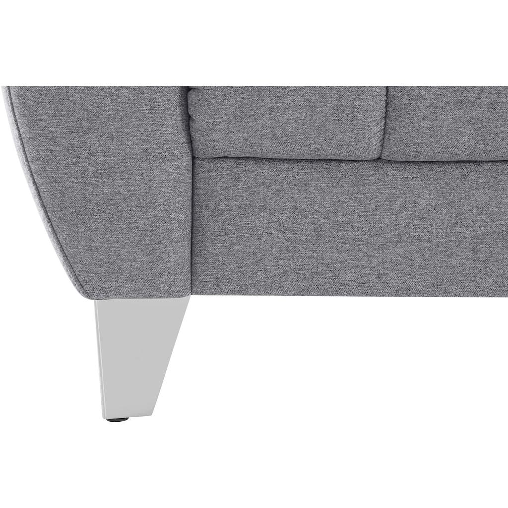 Places of Style Sessel »Bardi«, wahlweise mit Kopfteilverstellung, auch in Bezug Aqua Clean - leicht mit Wasser zu reinigen
