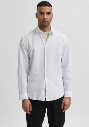 SELECTED HOMME Leinenhemd »NEW-LINEN SHIRT« kaufen