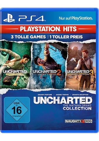 PlayStation 4 Spiel »Uncharted: The Nathan Drake Collection«, PlayStation 4 kaufen