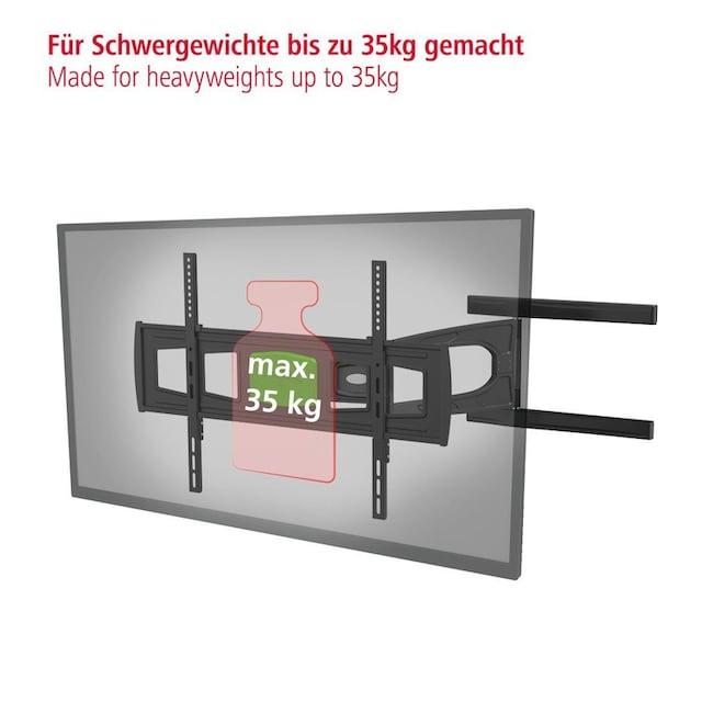 "Hama TV-Wandhalterung, schwenkbar, neigbar, 165cm (65""), 2 armig »FULLMOTION, vollbeweglich«"