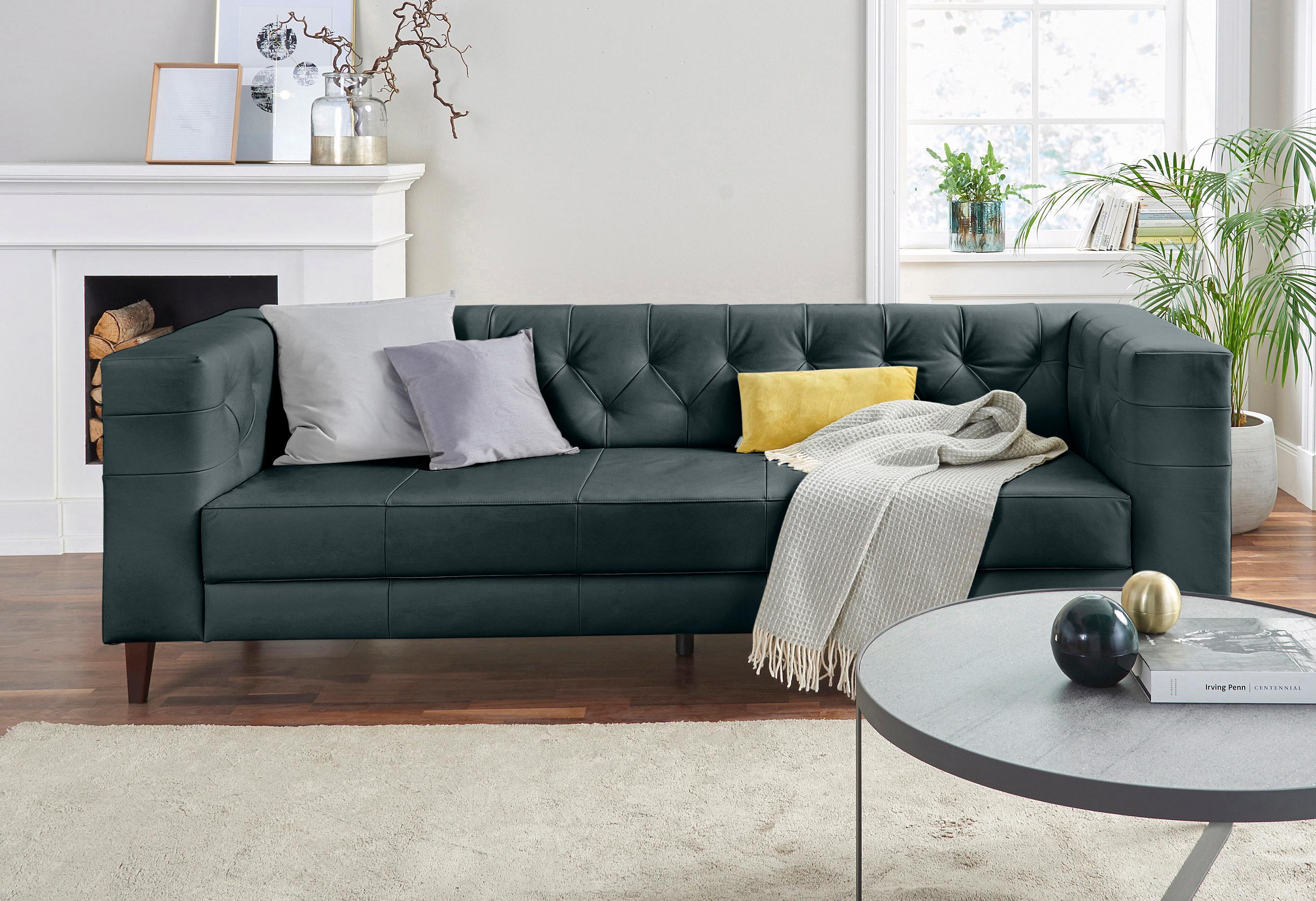 schwarz-samt 2 & 3 Sitzer Sofas online kaufen | Möbel-Suchmaschine ...